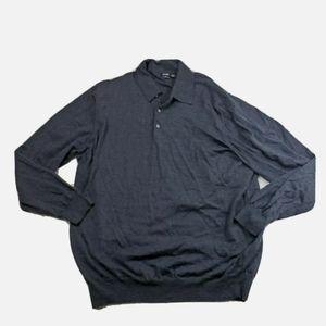 Boss Hugo Boss 56 XL Merino Wool Gray Sweater